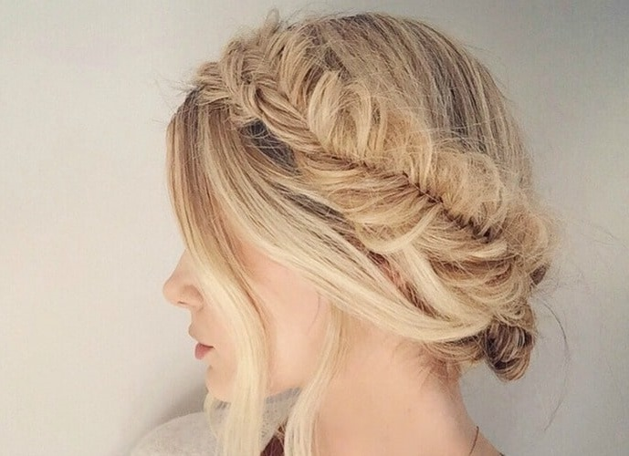Easy Updo Hairstyles For Medium Length Hair To Do At Home2